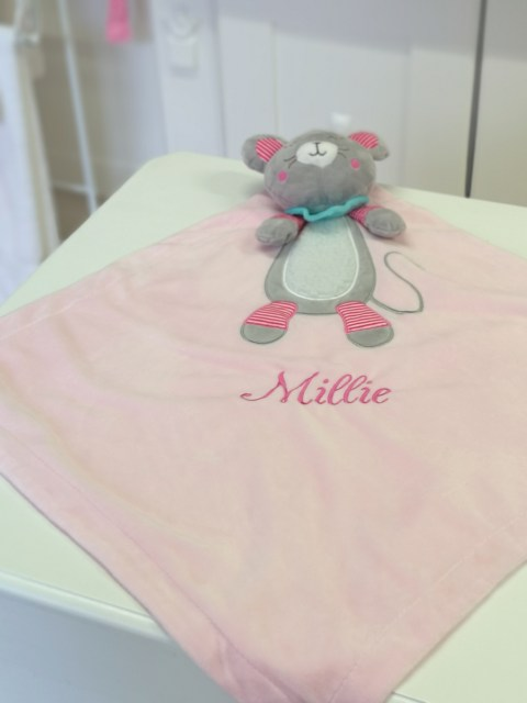 IMG-XL Mouse Comforter Snuggle Blanket