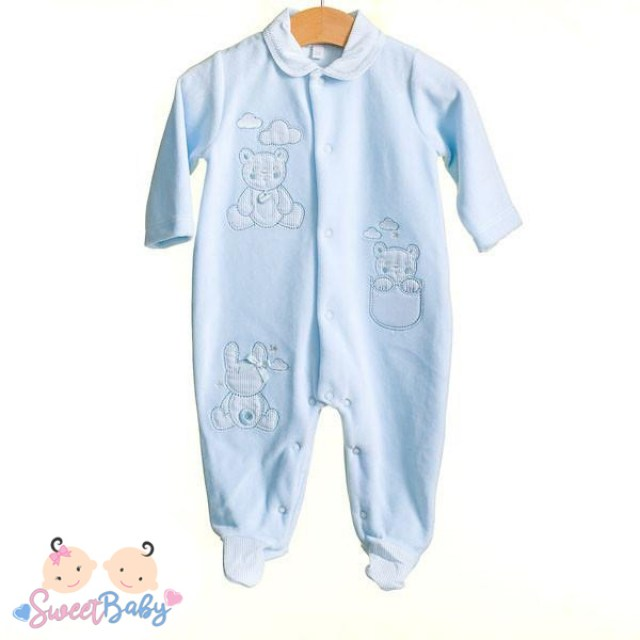 blue teddy sleeper